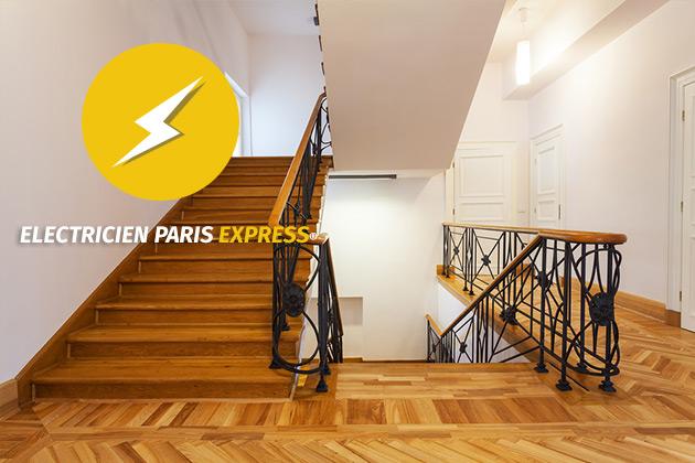 les normes lectriques des parties communes electricien. Black Bedroom Furniture Sets. Home Design Ideas